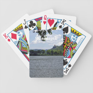 Minnesota Landscape Bicycle Playing Cards