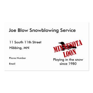Minnesota Loon Business Cards