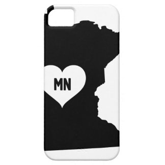 Minnesota Love Barely There iPhone 5 Case