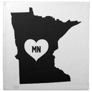 Minnesota Love Napkin