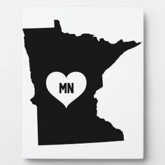 Minnesota Love Plaque
