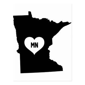 Minnesota Love Postcard