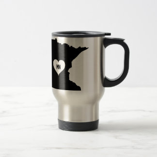 Minnesota Love Travel Mug