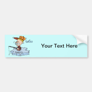 Minnesota MN Ice Fishing Vintage Travel Souvenir Bumper Sticker