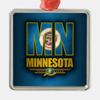 Minnesota (MN) Metal Ornament