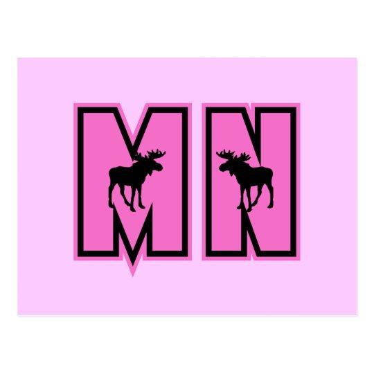 Minnesota Moose Postcard