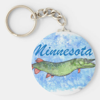 Minnesota Musky Key Ring