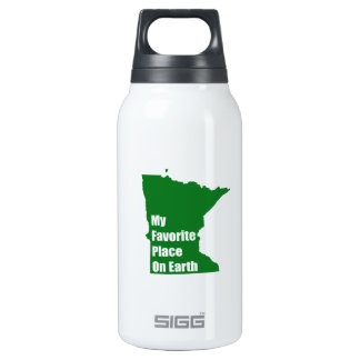 Minnesota My Favorite Place On Earth 0.3L Insulated SIGG Thermos Water Bottle