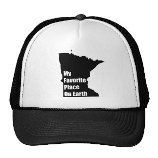 Minnesota My Favorite Place On Earth Cap
