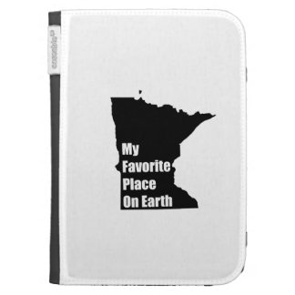 Minnesota My Favorite Place On Earth Kindle 3G Covers