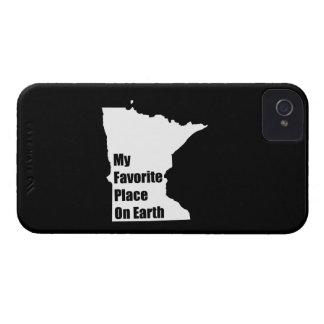 Minnesota My Favorite Place On Earth iPhone 4 Case-Mate Case