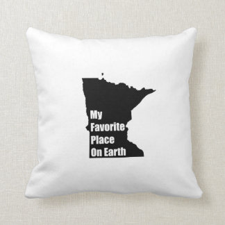 Minnesota My Favorite Place On Earth Pillows