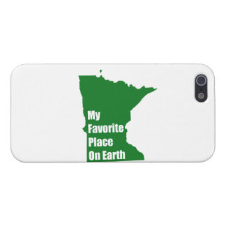 Minnesota My Favorite Place On Earth Cover For iPhone 5