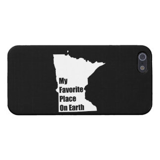 Minnesota My Favorite Place On Earth Case For iPhone 5