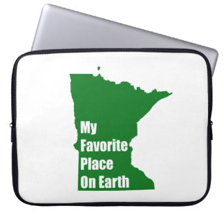 Minnesota My Favorite Place On Earth Laptop Sleeves