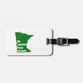 Minnesota My Favorite Place On Earth Tag For Bags