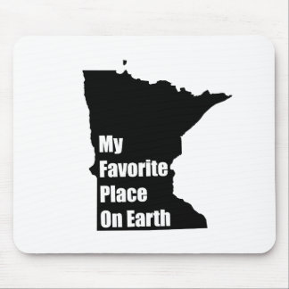 Minnesota My Favorite Place On Earth Mouse Pad