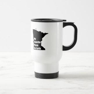 Minnesota My Favorite Place On Earth Mug