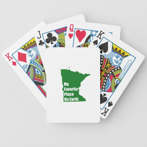 Minnesota My Favorite Place On Earth Card Deck