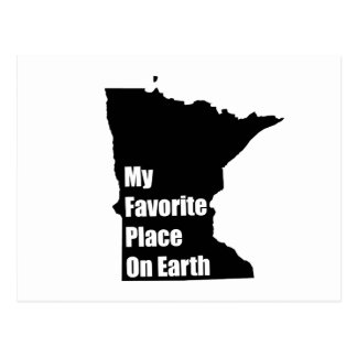 Minnesota My Favorite Place On Earth Post Cards