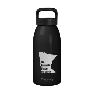 Minnesota My Favorite Place On Earth Drinking Bottles