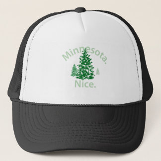 Minnesota Nice.  Period! Trucker Hat
