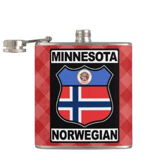 Minnesota Norwegian American Hipflask Hip Flask