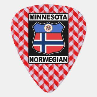 Minnesota Norwegian American Plektrum Guitar Pick
