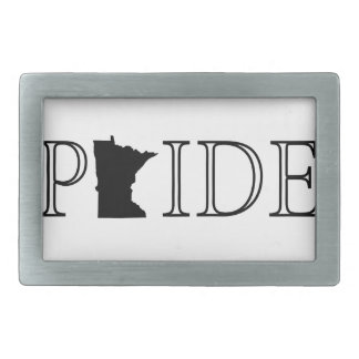 Minnesota Pride Rectangular Belt Buckle