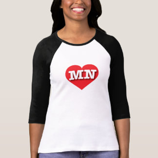 Minnesota Red Heart - Big Love T-Shirt