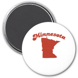 MINNESOTA Red State Fridge Magnets