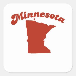 MINNESOTA Red State Stickers