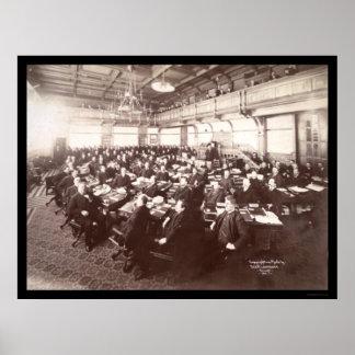 Minnesota Senate Photo 1901 Poster