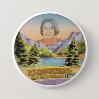 Minnesota Senator Amy Klobuchar for President 7.5 Cm Round Badge
