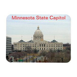 Minnesota State Capitol Rectangular Photo Magnet