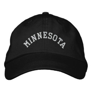 Minnesota State Embroidered Embroidered Hat