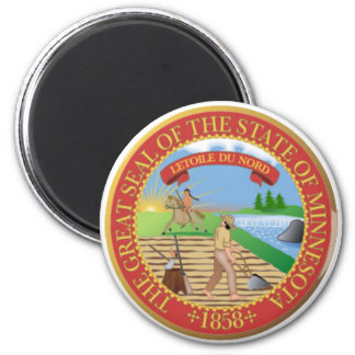 Minnesota State Seal Magnet