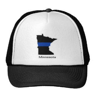 Minnesota Thin Blue Line Trucker Hat