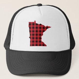 Minnesota Trucker Hat | Paul Bunyan Plaid Hat