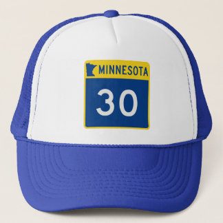 Minnesota Trunk Highway 30 Trucker Hat