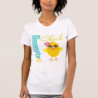 Minnesota USA Chick Tshirt