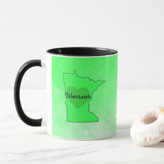 Minnesota Warrior Lyme Disease Awareness Coffee Mu Mug