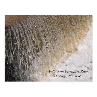 Minnesota Waterfalls Postcard