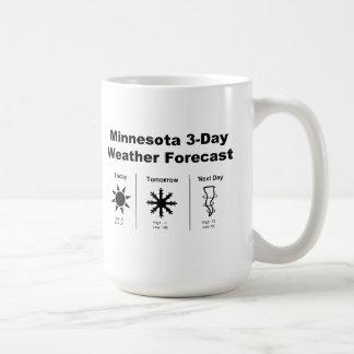 Minnesota Weather Forecast Coffee Mugs