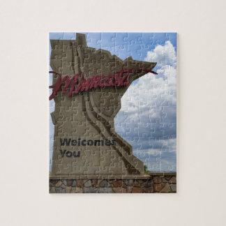 Minnesota Welcomes You Jigsaw Puzzle