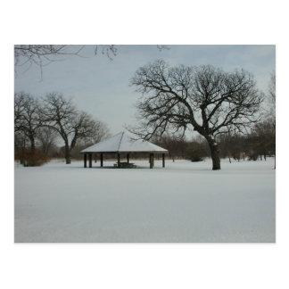 Minnesota Winter Postcard