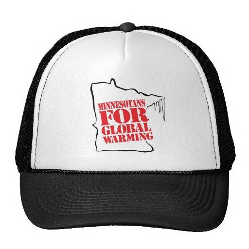 Minnesotans For Global Warming Hat