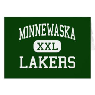 Minnewaska - Lakers - Area - Glenwood Minnesota Greeting Card