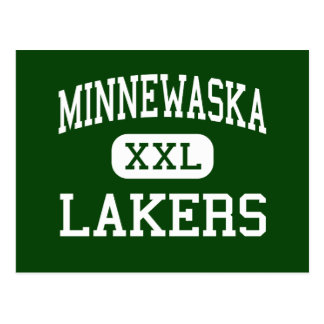 Minnewaska - Lakers - Area - Glenwood Minnesota Postcard