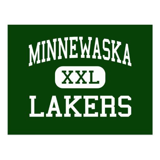 Minnewaska - Lakers - Area - Glenwood Minnesota Postcards